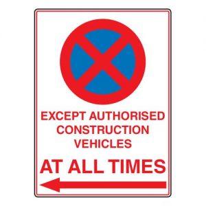 No Entry Board Signs