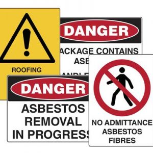 Asbestos Warning Signs