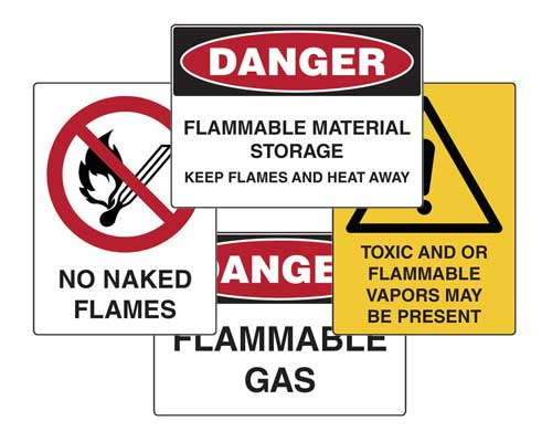 Chemical Hazard Safety Signs