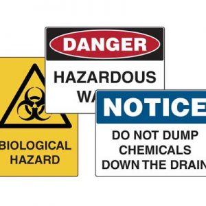 Hazadous Waste Signs