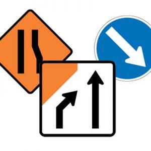 Lane Management Signs