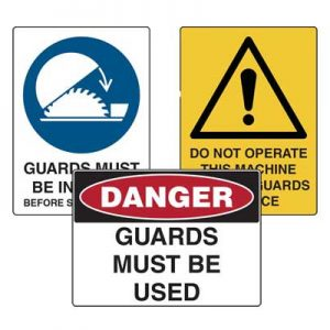 Safety Guard Signs